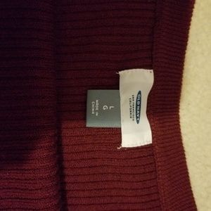 Old Navy Sweaters - Old Navy dark red sweater